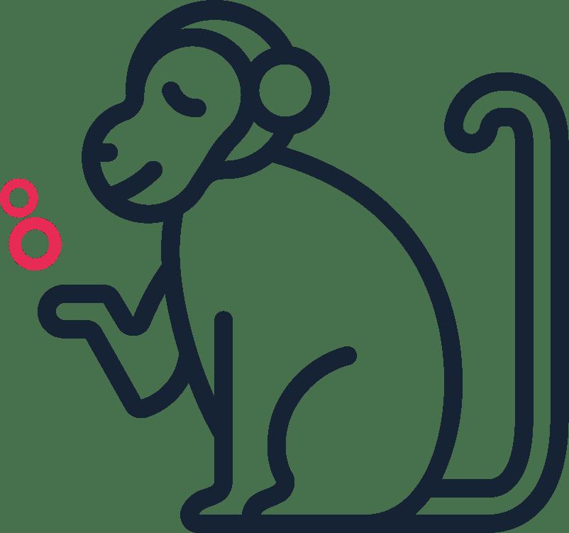 Less than a Monkey
