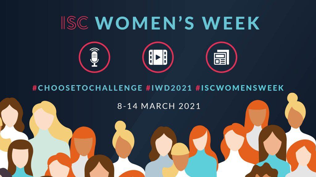 ISC Graphic - International Womens Week