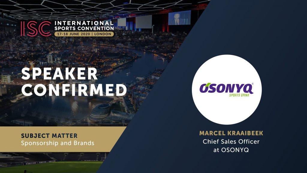 ISC London 2020 - Osonyq Marcel Kraaibeek