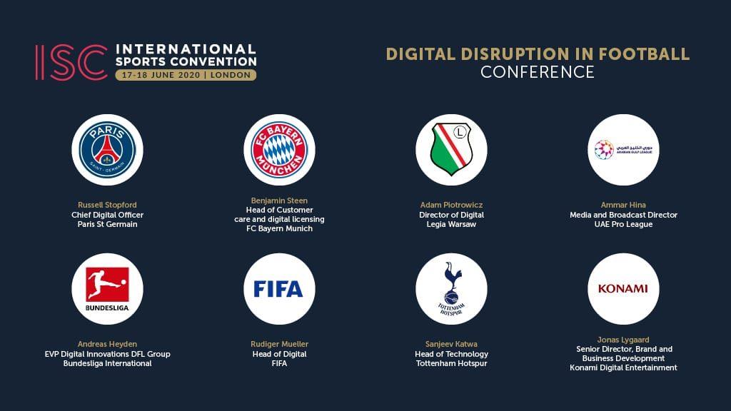 ISC London 2020 Social Graphics - Conference - Digital Disruption