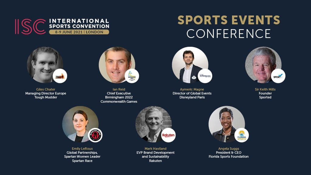ISC London 2020 Sports Events Speakers