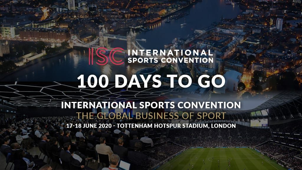 ISC London Social Graphic 100 days to go