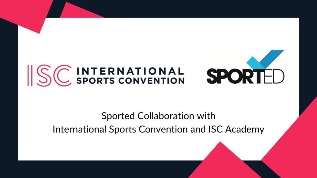 Sported Collaboration with International Sports Convention and ISC Academy