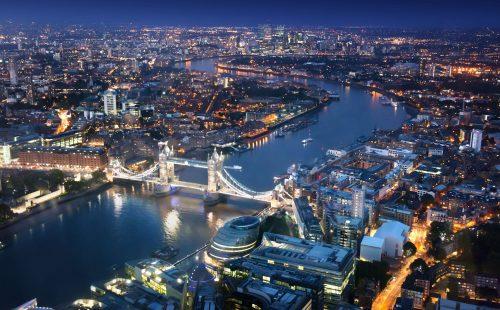 London-Night-Sky